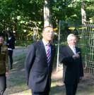Begrüßung des Gesandten der Chinesischen Botschaft durch den Vorsitzenden Dr. Reinfried